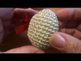 Пасхальное яйцо Вязание крючком Crochet EASTER EGG