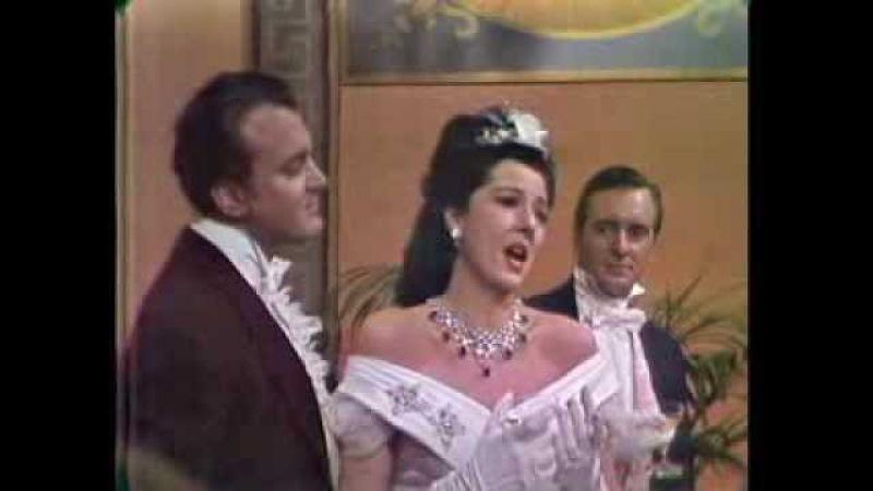Anna Moffo Libiamo Un di Felice Nicolai Gedda 1962 colour