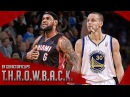 Throwback: LeBron James vs Stephen Curry Duel Highlights (2014.02.12) Warriors vs Heat - MUST SEE!