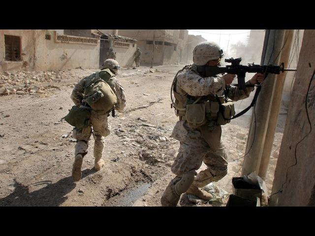 U S Marines in Battle of Fallujah Urban Combat Footage Iraq War