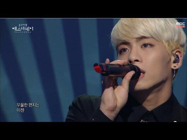 [HOT] SHINee Jong Hyun - Gloomy Letter, SHINee 종현 - 우울한 편지, Yesterday 20140405