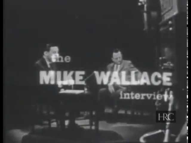 Эрих Фромм в гостях у Майкла Уолеса 1958
