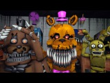 Animatronics Reaction to FNAF Movie Teaser Images | FNAF SFM