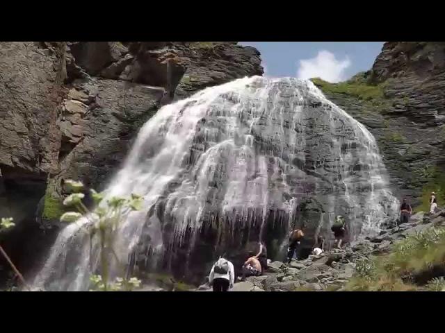Приэльбрусье водопад девичьи косы