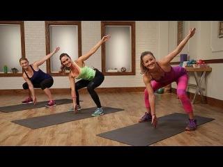 Cristine Bullock - Rock Your Bottoms With Our Bikini-Butt Workout | Кардио-тренировка для ягодиц