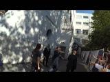 Ralph Fiennes dances on 'Emotional Rescue'