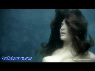 Underwater sex adventures of cute brunette (720)