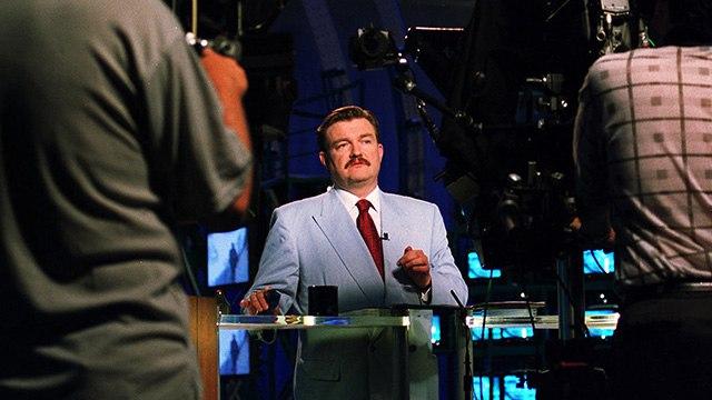 Интервью Евгения Киселёва, бывшего ведущего «Итогов» наНТВ