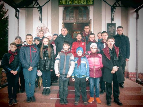 """Урочиста присяга учасників """"Українська молодь-Христові"""" відбулася в м. Калуші!"""