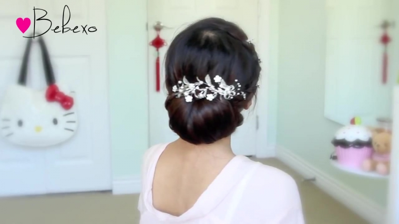 Get Ready With Me Wedding Edition- Classic Bridal Updo