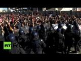 антифашики против полицаей