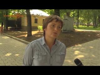 Девушка смело нацисткому каналу: --