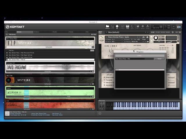 Spitfire Walkthrough Hans Zimmer Piano