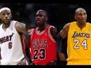 Michael Jordan vs Kobe Bryant vs Lebron James
