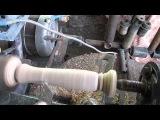 Самодельный токарный станок по дереву из стиральной машины и запчастей от автомобиля