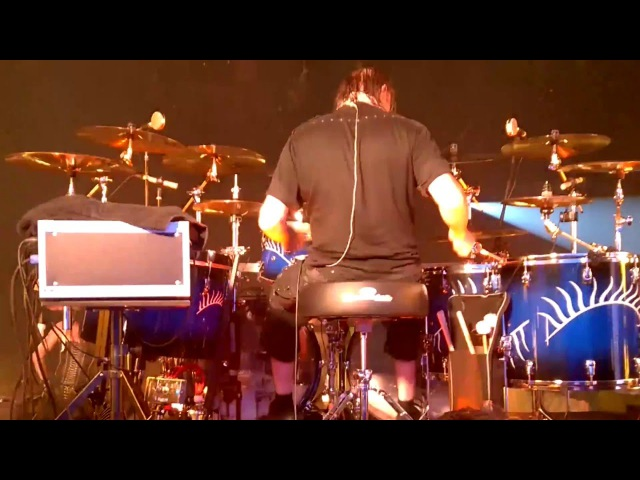 Kai Hahto (Nightwish) Drumcam 'Ghost Love Score' ( Espoo/Finland/13.11.2015)