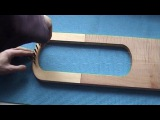 Making an Anglo-Saxon lyre part 7