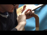 Making an Anglo-Saxon Lyre part 6