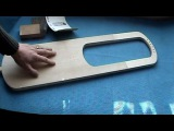 Making an Anglo-Saxon lyre part 5
