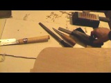 Making an Anglo-Saxon lyre part 4