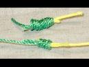 Самый лучший узел для связывания двух лесок. Узел Олбрайт.