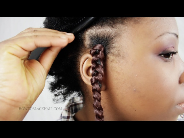 Patra Braids Step by Step Solange/Poetic Justice Inspired Tutorial Part 2