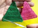 Вязание крючком Урок 213 Треугольный мотив Treangle crochet motif