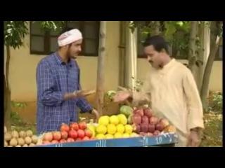 Беседа на санскрите на рынке