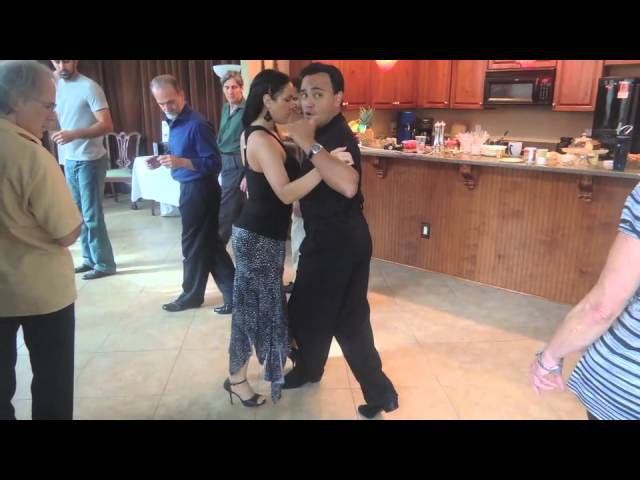 Traspie Combination in Tango Vals and Milonga Lesson