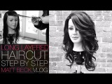 HOW TO CUT A LONG LAYERED HAIRCUT STEP BY STEP | MATT BECK VLOG 014