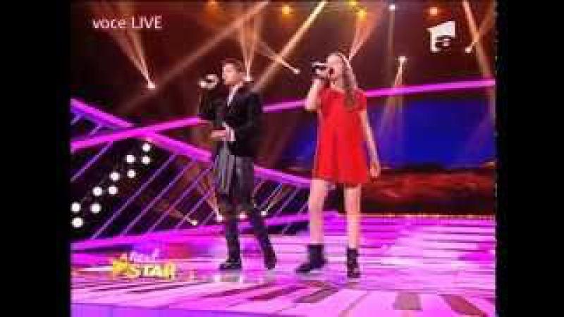 Catinca Popa şi Jorge - Alejandro Fernandez si Christina Aguilera - Hoy Tengo Ganas de Ti