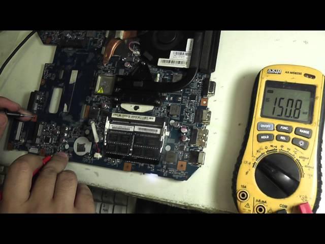Опять LZ57 Lenovo Z570 любимое место, залит водой