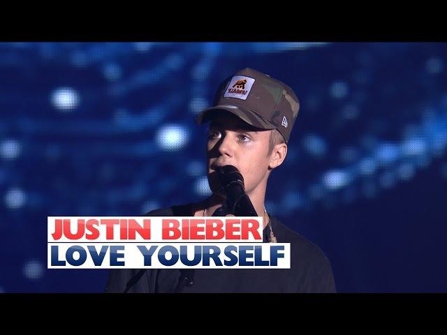 Justin Bieber - 'Love Yourself' (Jingle Bell Ball 2015)