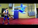 Mortal Kombat X in Real Life: Sub-Zero vs SuperOleg
