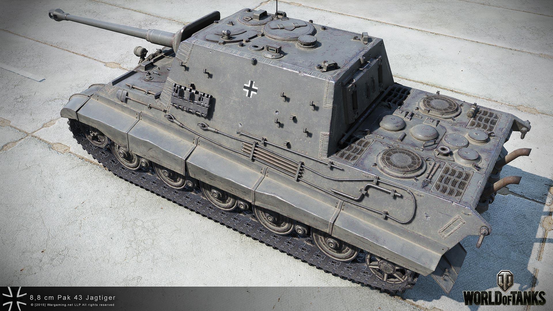 8,8 cm Pak 43 Jagdtiger в HD качестве