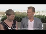Crimson Peak Cast — SDCC 2015 Interview: «Tom Hiddleston Shows Off His Hot Butt» (E! Online) (русские субтитры)