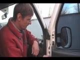 Fiat Doblo Снятие бокового зеркала