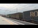E190 322 sul TCS 55089 Fiorenzuola Piedimonte V S L Aquino in transito a Roma Tiburtina
