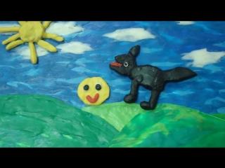 Пластилиновая сказка Колобок, сделанная ребятами Дома волшебников филиала на Бабушкинской!