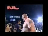 Crossface Brock Lesnar vs. Shinsuke Nakamura - NJPW 01.04.2006