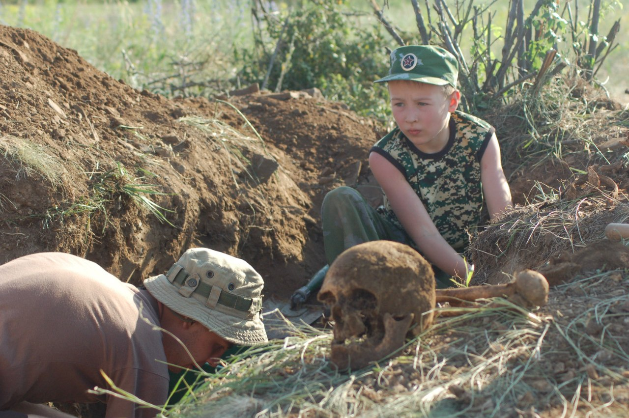 Недалеко от Таганрога были найдены останки бойцов Красной армии