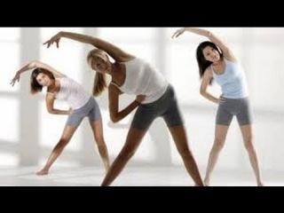 Фитнес зарядка для всех очень эффективно Фитнес зарядка стоя.