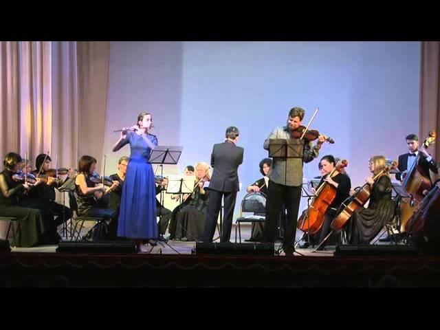 И.С. Бах. Ария Erbarme dich (обр. для флейты и скрипки с оркестром)