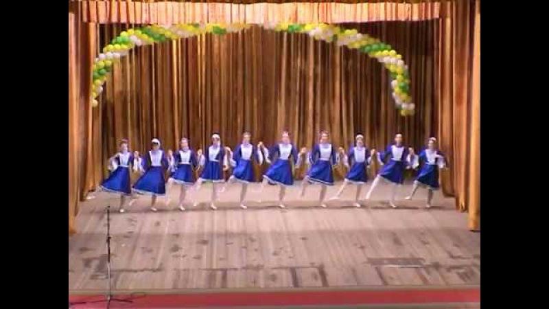 Еврейский танец '7 40' коллектив 'Світанок'