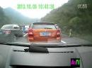 ДТП Взрыв цистерны с газом на дороге в Китае