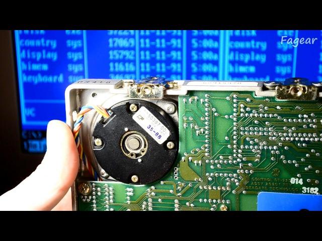 Ремонт Seagate ST-225 (MFM) и установка в IBM XT