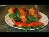 Как приготовить Вкусный Ужин -Фаршированная куриная грудка яблоками