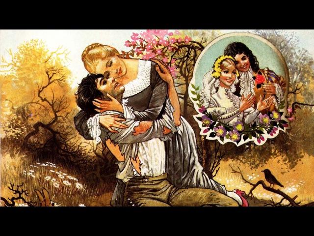 Rapunzel Brothers Grimm | Nursery Rhymes. Audiobook. English Rhymes. Fairy Tales. Childrens books.