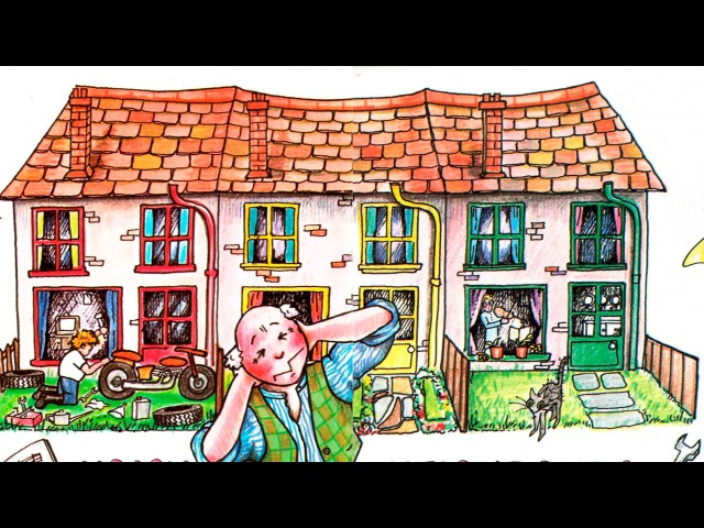Noisy Neighbours | Nursery Rhymes. Audiobook.