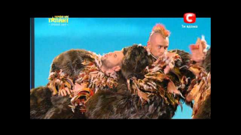 Україна має талант-5.Коллектив «Candy man» [2 Полуфинал][27.04.13]